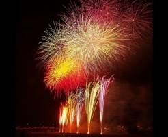 笛吹市夏祭り石和温泉花火大会